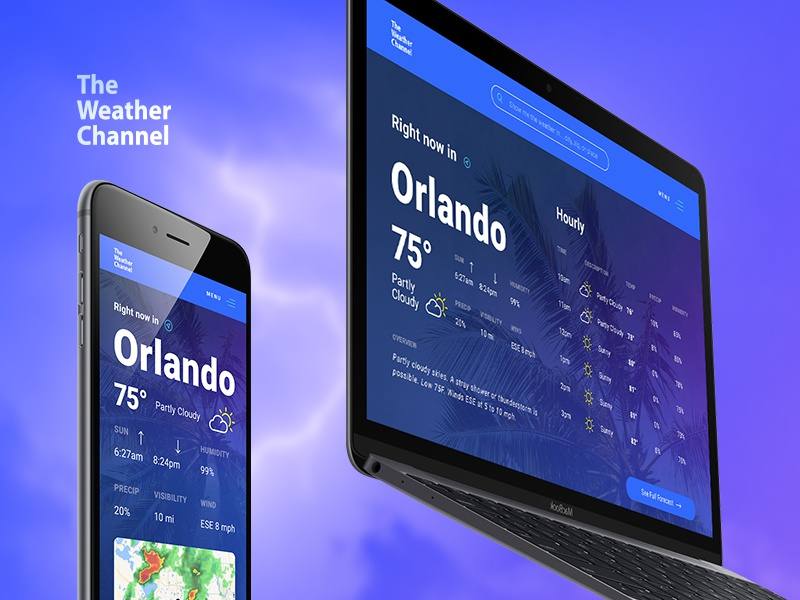 Dribbble weatherchannel