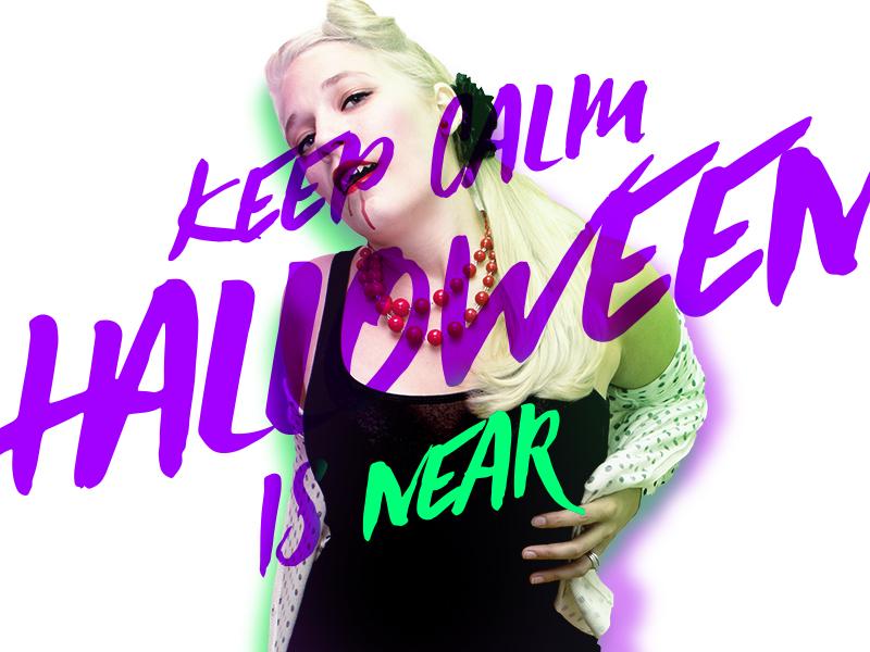 Keep Calm Halloween Is Near october halloween