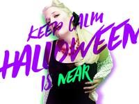 Keep Calm Halloween Is Near