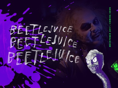 Mocktober Topic Reveal — Beetlejuice