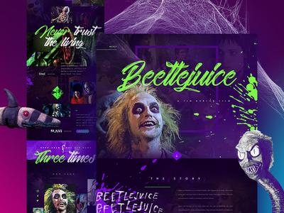 Beetlejuice (Mocktober Challenge)