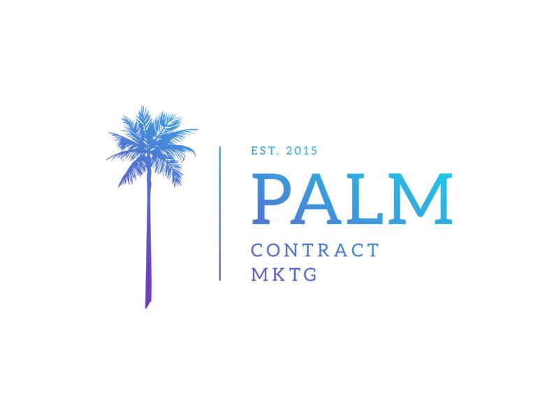 Palm Contract Marketing palm logo