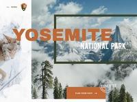 Yosemite homepage