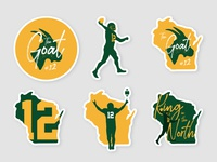 Da Rodgers Sticker Pack
