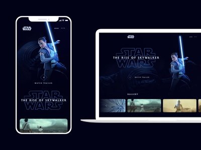 Star Wars: The Rise of Skywalker - Trailer Landing Page