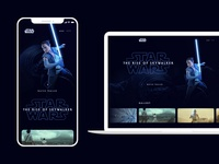 Star Wars: The Rise of Skywalker - Trailer Landing Page