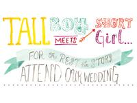 Wedding Invites WIP