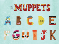 Completed Muppet Alphabet