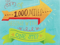 A Journey of 1,000 miles