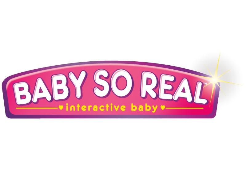 Baby So Real illustration vector logo