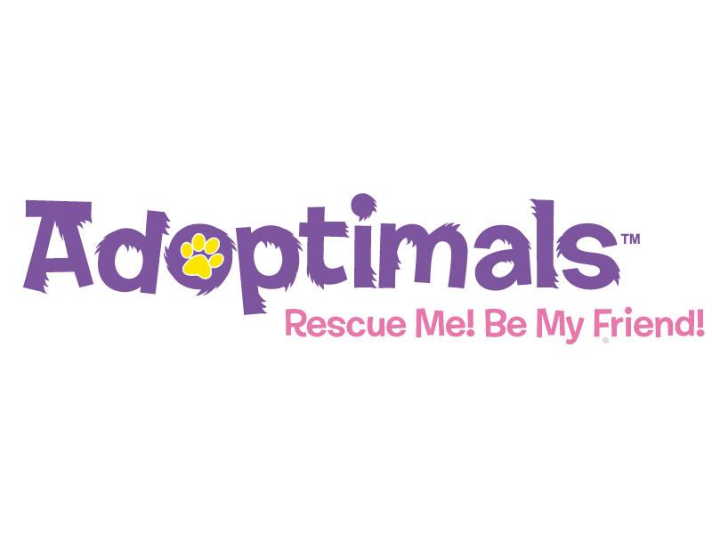 Adoptimals illustration vector logo
