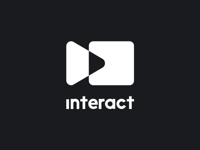 Interact Conference Logo interactivity interact stop play conference reality virtual multimedia video vr