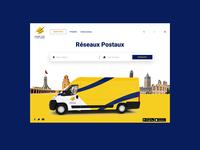 Tunisian Post Website Redesign