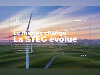 STEG Website Redesign