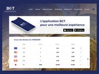 BCT Website Redesign