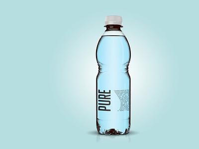 Clearly Designed Plastic Bottle bottle mockups