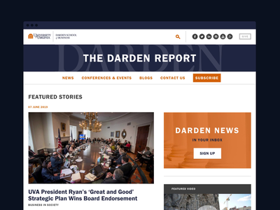The Darden Report Website