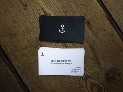 Business card graphic design print business card minmal black and white identity