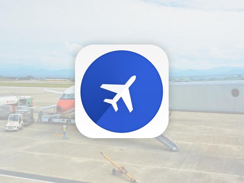 #005 - App Icon symbol ios iphone design radar flight icon app 005 dailyui