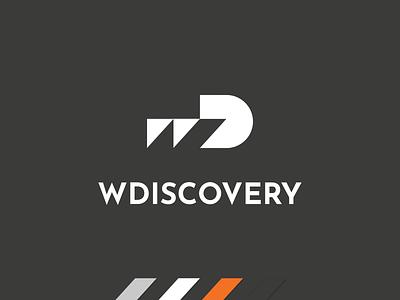 WDiscovery logo proposal chart proposal tech bi business intelligence logo