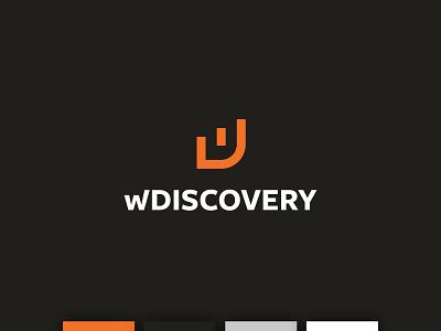 WDiscovery logo bi business intelligence branding logo