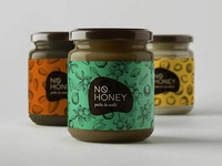No Honey Label Design