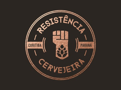 Logo Design Resistência Cervejeira beer logo