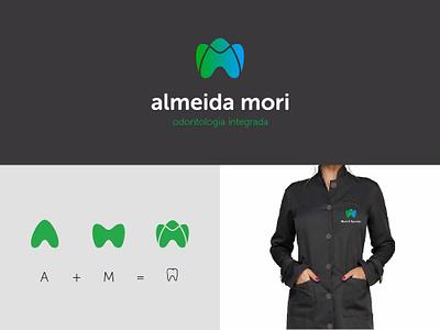Almeida Mori - Logo Design dentist logo dentistry logo