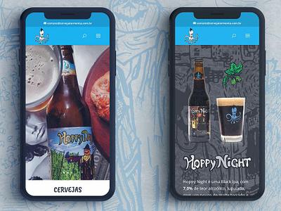Cerveja Tormenta - Mobile wordpress web design mobile tormenta beer