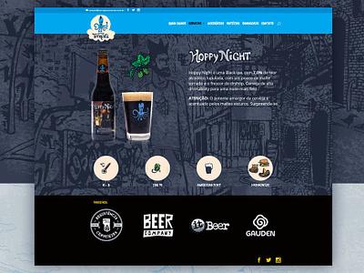 Cerveja Tormenta wordpress web design beer
