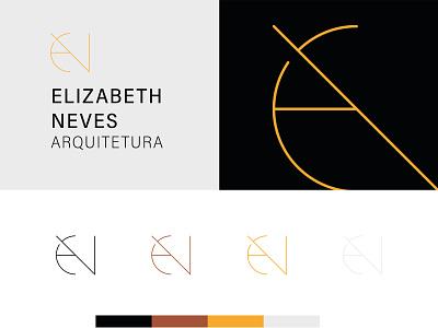 Elizabeth Neves Arquitetura branding brand logo arquitetura arquitecture