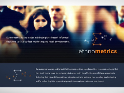 Ethnometrics Identity & Page Header Ideas