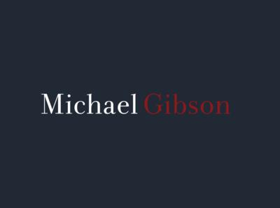 Michael Gibson logo ideation 1