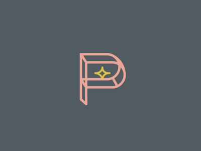 Passive Income Dentist Single Lettermark influencer logo dentist logo trendy logo trendy modern star letter p logotypes letter illustration brand standards brand design brand logotype design logotype