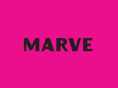Marve Creative Agency branding concept influencer logo branding and identity brand identity typography logo design vector branding design illustration
