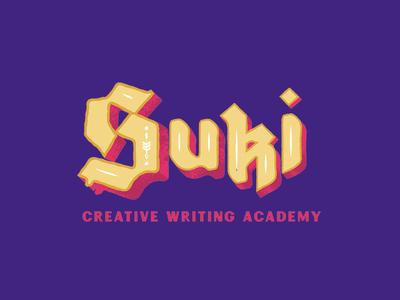 Suki Creative Writing Academy Logotype 2