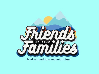 Friends Helping Families Benefit Logo