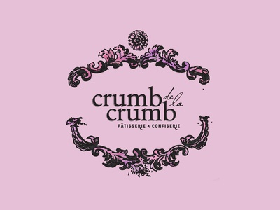 Crumb de la Crumb Bakery Logotype 1