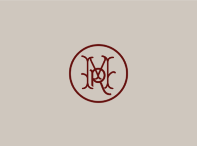 Madison's Reserve Wax Seal Logotype