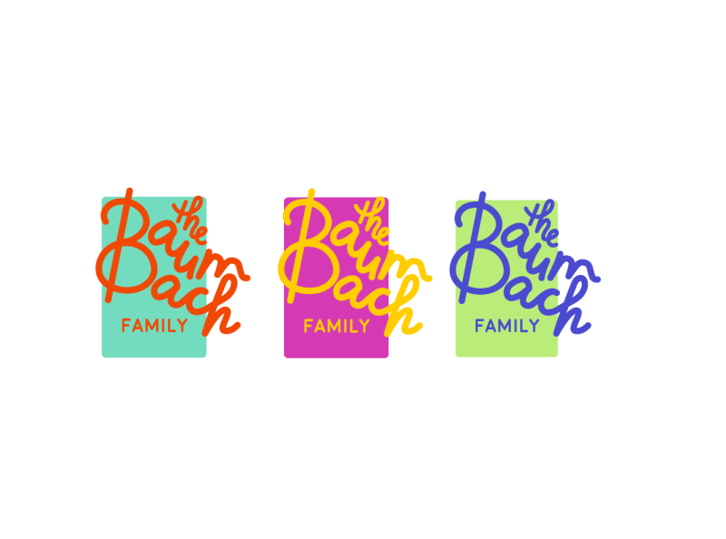Baumbach Family Logotype By Ryan Flynn On Dribbble