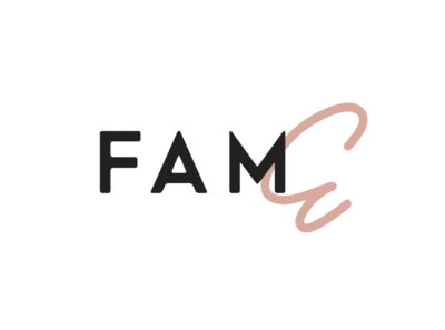 "East Fam logotype ""Fame"""