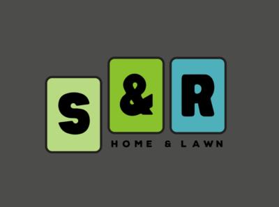 S&R Home & Lawn logotype