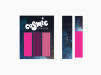 Cosmic Collection Product Packaging
