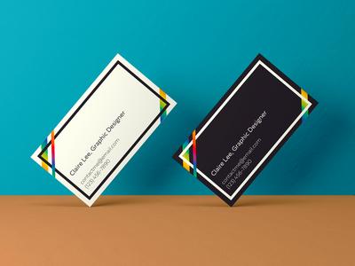Rainbow Business Card Designs