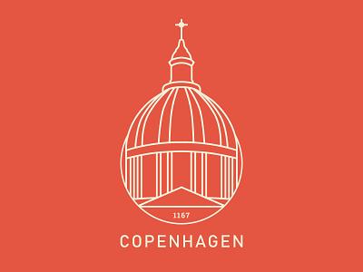 Copenhagen sticker sticker illustration warmup weekly