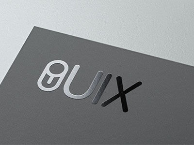 UIX.me logo uix toggle simple round u x ux ui portfolio