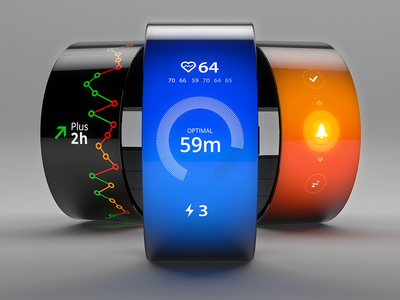 EQUI - A smartwatch concept that will balance your life  kisd smartwatch concept design product ui ux inspirational waves balance