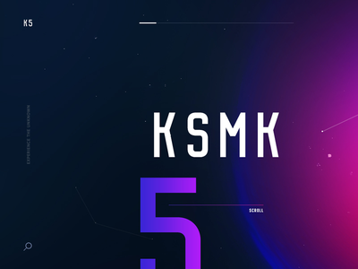 KSMK5 Concept interactive map starmap particles cosmos space stars