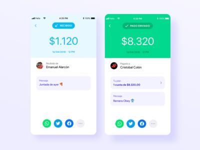 Palta - Fintech App UI