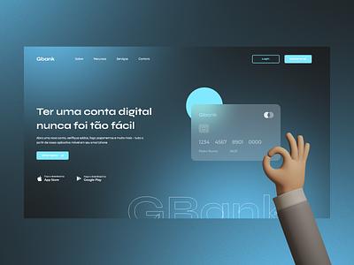 Landing Page - #003DailyUI illustration landingpage website 003 payment wallet bank web daily ux design ui dailyui